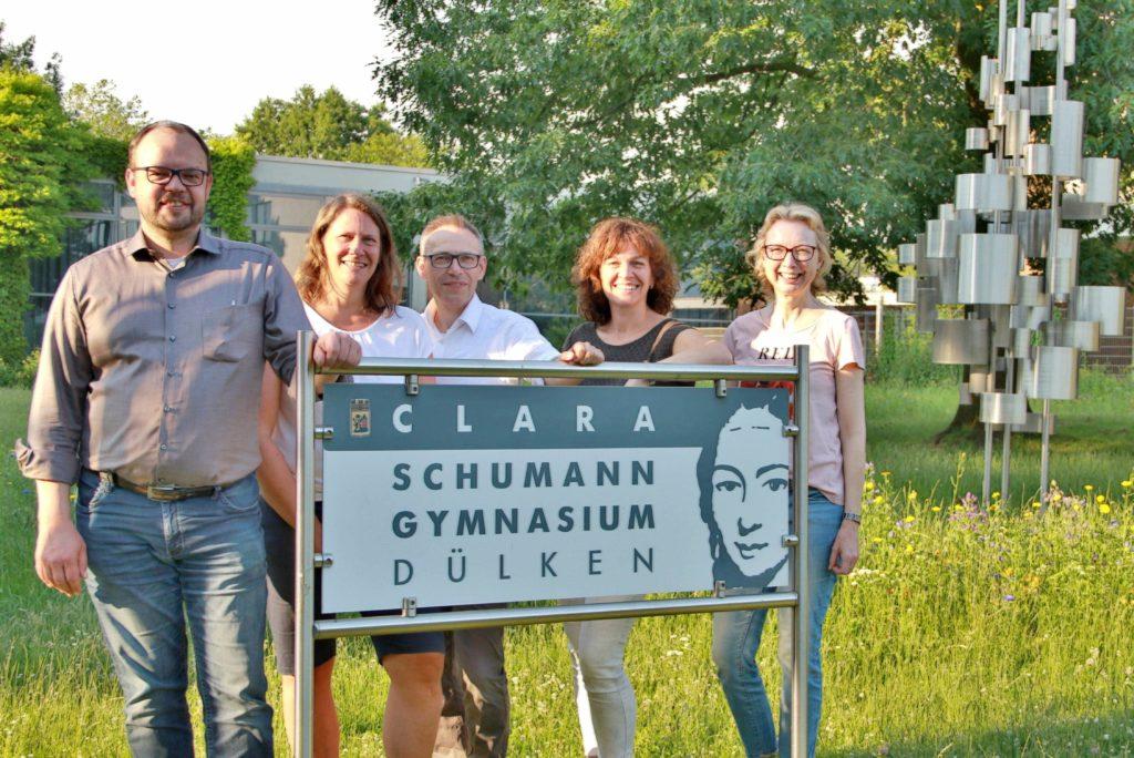 Vorstand des Fördervereins des Clara-Schumann-Gymnasiums Dülken